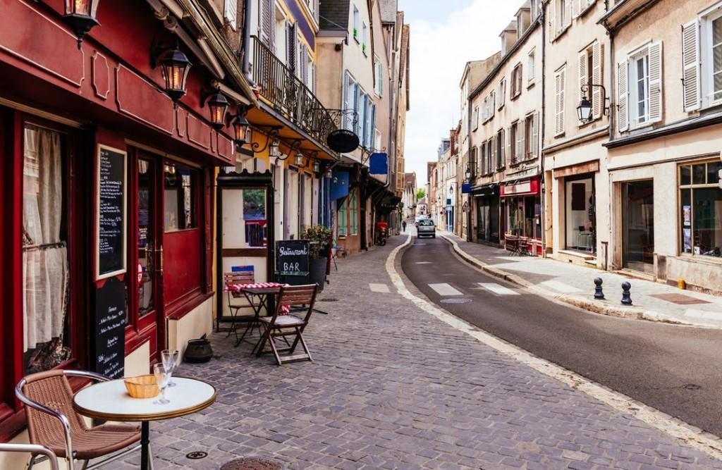 cafés bistrós Francia