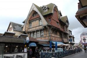 Arquitectura tradicional en el centro histórico.
