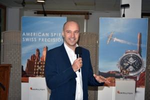 Sylvain Dolla, CEO de Hamilton.