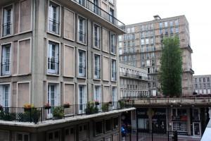 Construcciones de Auguste Perret, exponentes de la arquitectura y planificación urbanística de la postguerra.