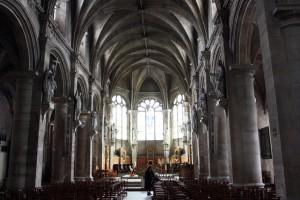 La catedral Nôtre Dame de Le Havre, construida entre los siglos XVI y XVII.