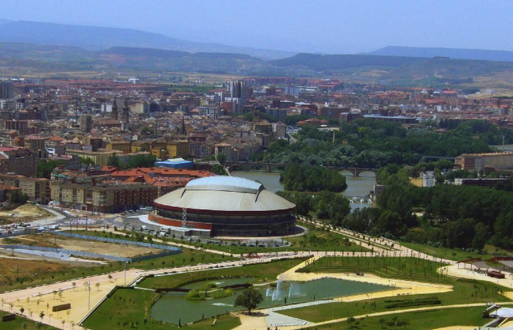Parque de la Ribera en Logroño. Foto: WikimediaCommons