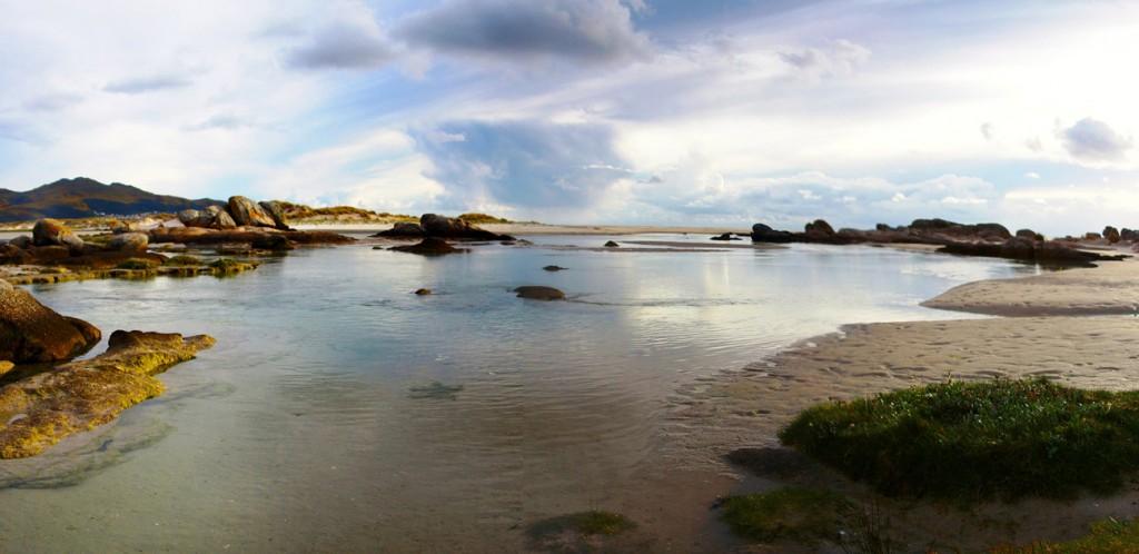 La Praia Carnota en A Coruña. Foto: Ramon Piñeiro vía WikimediaCommons