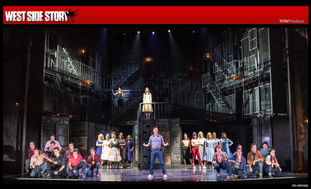 """El musical """"West Side Story"""" nos traslada hasta el Nueva York de los años 50"""