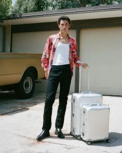 Las emblemáticas maletas y maletines de ranuras de Rimowa desde que en 1930 Richard Morszeck las diseñara.