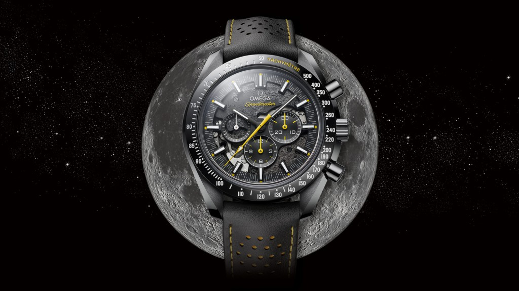 Omega versiona su célebre Speedmaster Professional Chronograph en una edición especial conmemorativa del 50 aniversario de la misión Apolo 8 a la Luna.