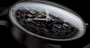 806 del Navitimer, uno de los iconos de la relojería de aviación además de emblema de la relojera Breitling desde entonces.