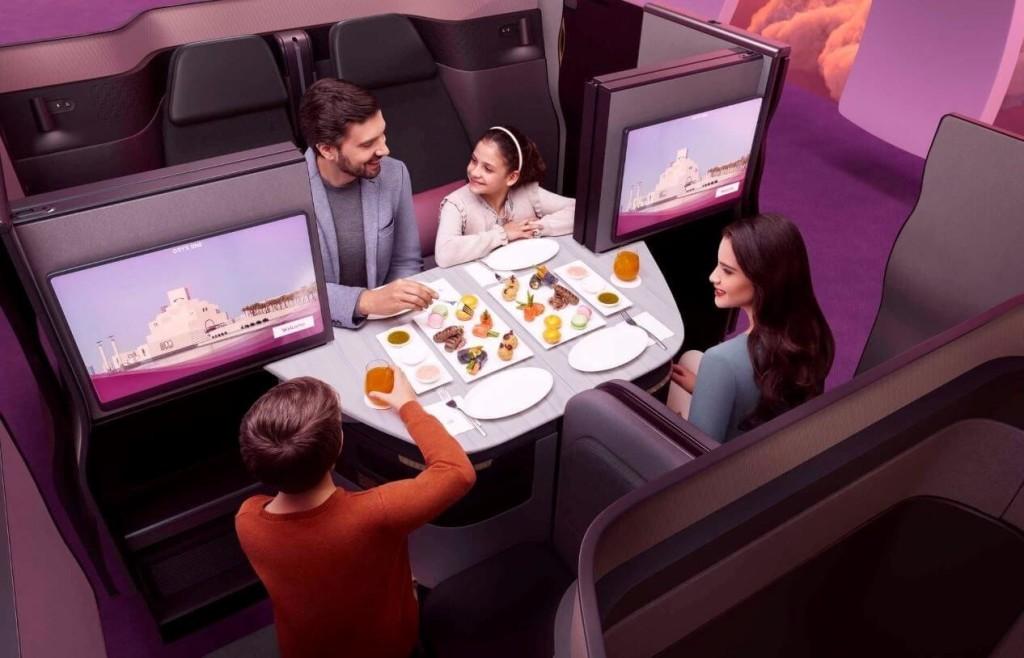 Business Qatar Airways QSuite