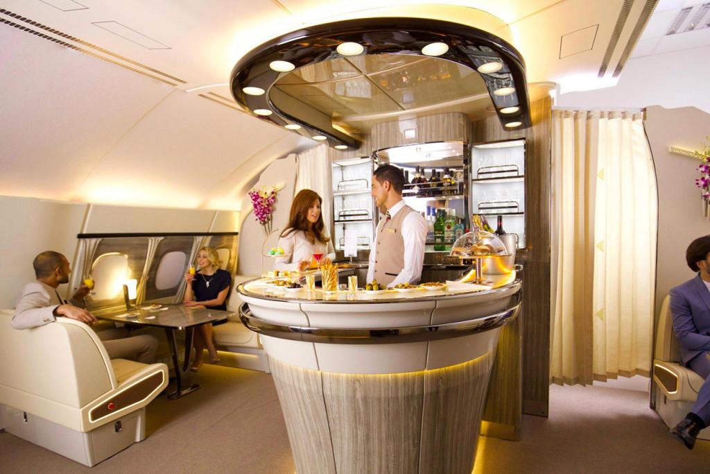 Clase ejecutiva Emirates - A380