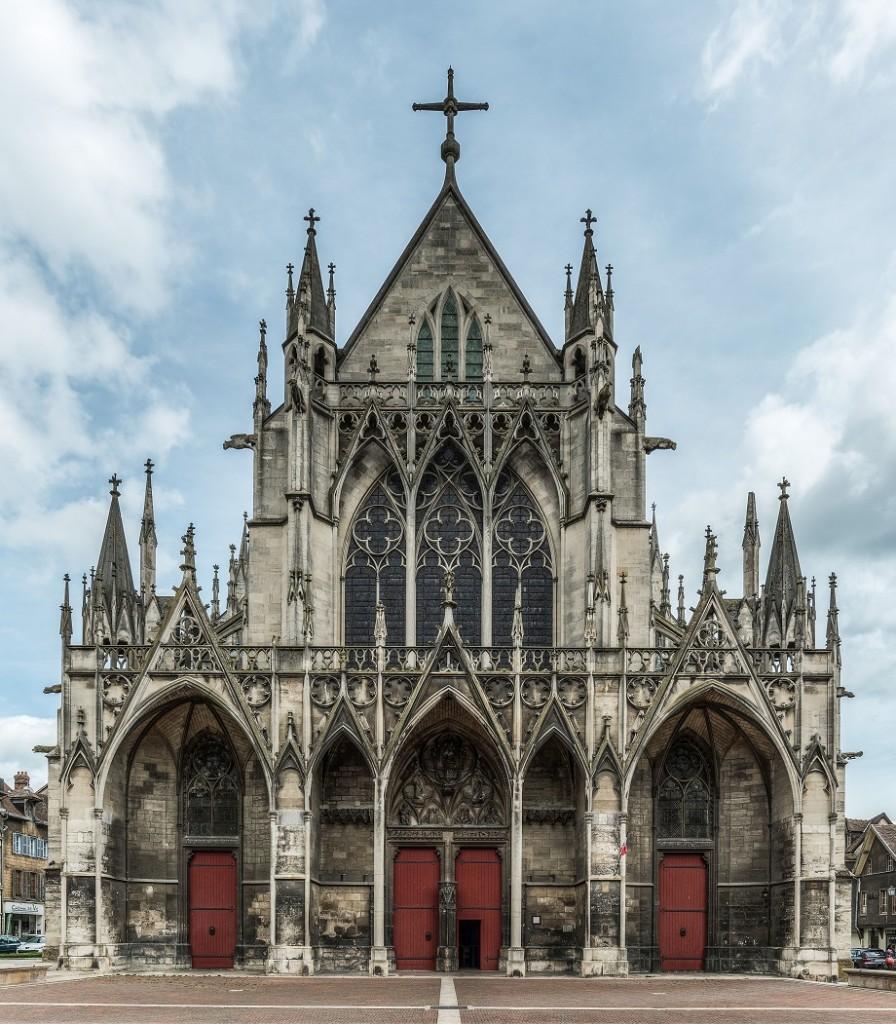 Basílica de Saint-Urbain , otro de los símbolos de Troyes.