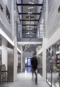 Hotel Ottilia de Copenhague: espacios continuos, sin obstáculos y bien ordenados.