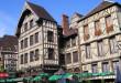 Troyes medieval casas de madera