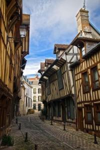 Las callecitas siguen teniendo el trazado original medieval.