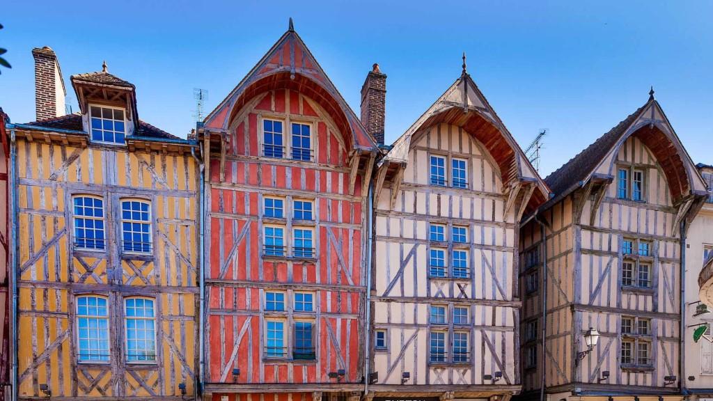Muchas casas guardan el mismo aspecto desde el siglo XVI.