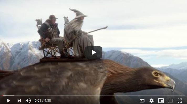 Air New Zealand - Safety Video Hobbit