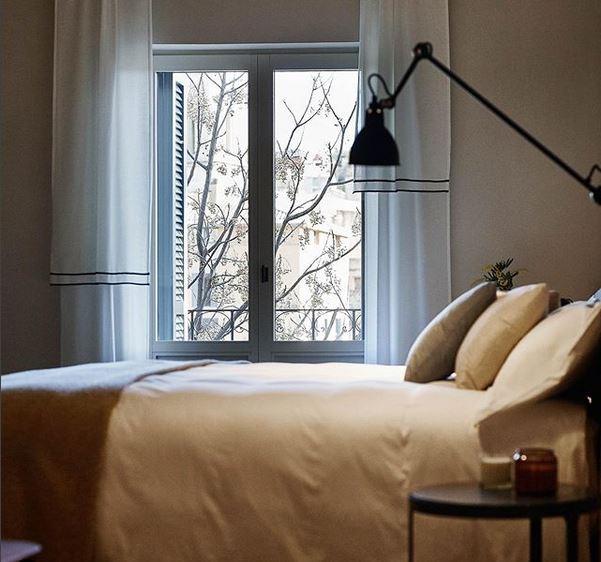 Los espacios son sencillos, respiran sosiego y confort. Foto: Instagram Hotel Casa Cacao Girona