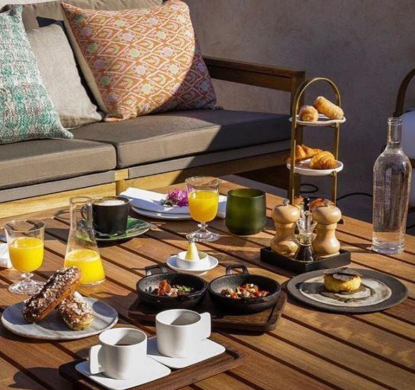 Desayuno con sello Can Roca en Casa Cacao. Instagram Hotel Casa Cacao Girona