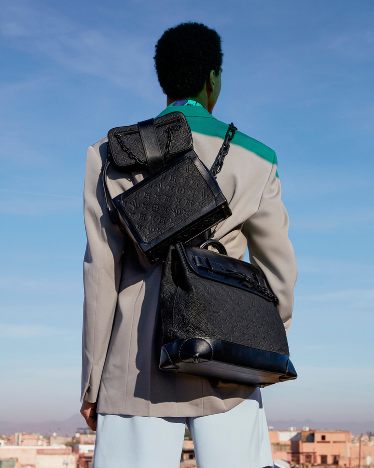 Marruecos es el contexto sobre el que Virgil Abloh construye la nueva colección de viaje de Louis Vuitton.