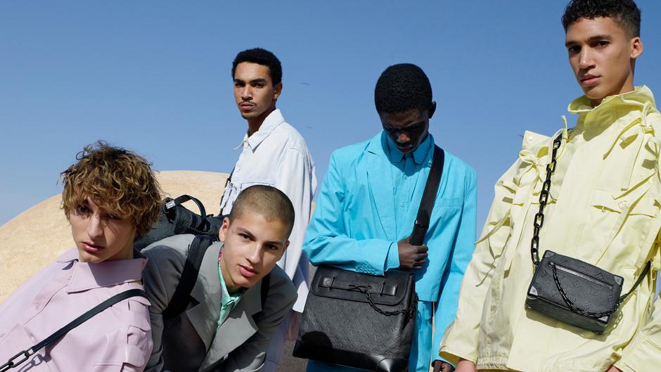 Marruecos y colección hombre de Louis Vuitton