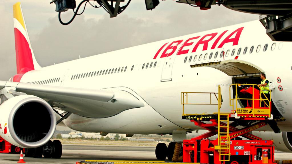 Corredor aéreo con China de Iberia